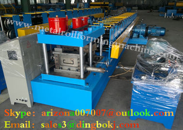 Galvanized Steel Sheet Stud And Track Roll Forming Machine For Vacationlands