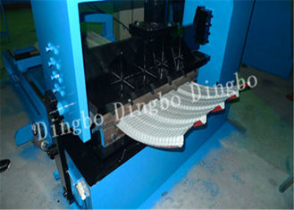 Hydraulic Crimping Machine with 1kw Servo Motor for Formed Corrugated Sheets into Horizontal Stripes