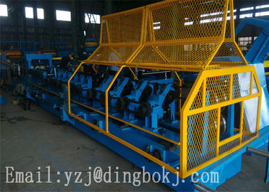 CE Certificated 380V CZ Purlin Roll Forming Machine With PCL Control System
