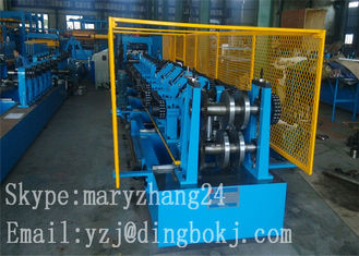 Casting Steel C & Z Roof Panel Roll Forming Machine Easy To Install