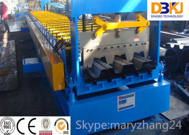 Metal Profile Floor Deck Roll Forming Machine with Panasonic PLC Control