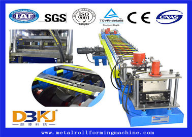 Constructional Use Purlin Roll Forming Machine / Full Auto Cold Roll Former