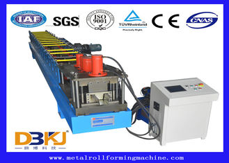 15 M / Min Automatic Rain Gutter Roll Forming Machine With Plc Control System