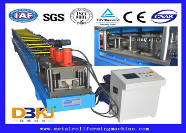 High Automatic Rain Gutter Forming Machine , Roof Panel Roll Forming Machine