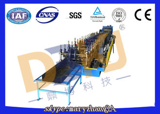 Automatic 50hz 380v Steel Cable Tray Roll Forming Machine Plc Control