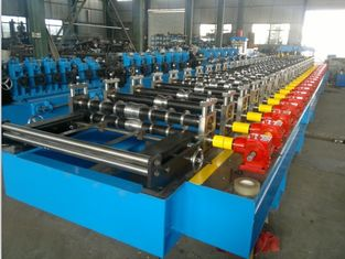 Trapezoid Roof Panel Roll Forming Machine For Indian Market CE